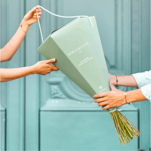 Bouquet fleurs bergamotte cadeau